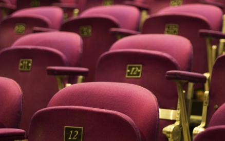 Seats at the Lobero Theatre